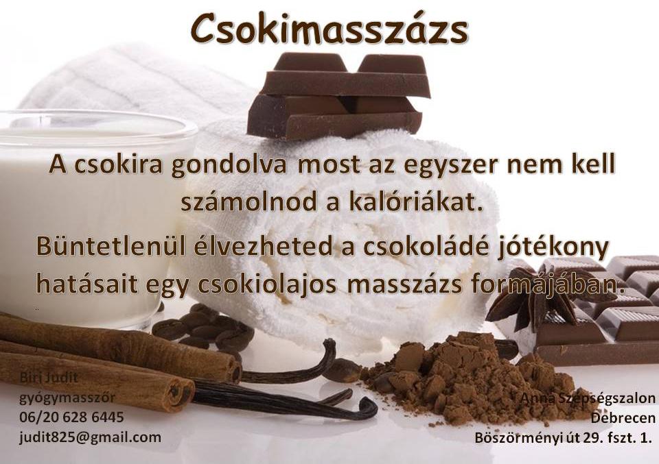 Csokimasszázs